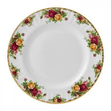 country roses dinner plate royal albert us