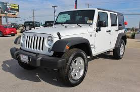 white jeep rubicon 2016 white jeep wrangler unlimited other vehicles kdhnews com