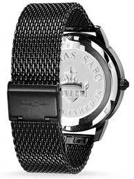 black mesh bracelet images Thomas sabo mens rebel spirit mesh bracelet watch wa0271 202 203 jpg