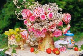 Best Flower Food Happiness Tag Wallpapers Happy Birthday Jacqeline Friendship