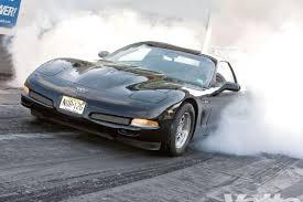 corvette clutch burnout 2003 chevy corvette z06 magazine
