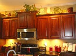 above kitchen cabinets ideas decorating above kitchen cabinets home design ideas