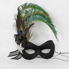 mask with feathers feather masquerade masks peacock masks masquerade express