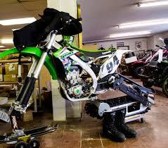 motocross snow bike trading dirt for snow snowbikes