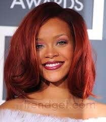 short wavy curly red lace front synthetic hair celebrity