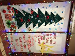 door decorating contest st rose food services christmas at st