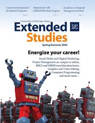 spring summer 2016 unr extended studies catalog by unr extended
