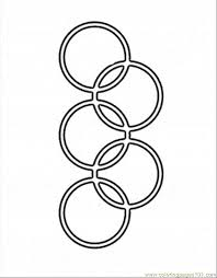 olympic rings color images Olympic rings coloring page coloring home gif