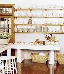 Kitchen Shelves Decorating Ideas by Retro Modern Kitchen Decorating Ideas Open Kitchen Shelves For