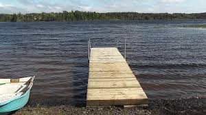 how to build a floating dock using barrels detailed step by
