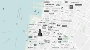 Hudson Florida Map by Vibrant Tribeca New Condo Neighborhood 100 Barclay Nyc