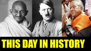 On This Day In History Today In History What Happened On This Day Know Oneindia News