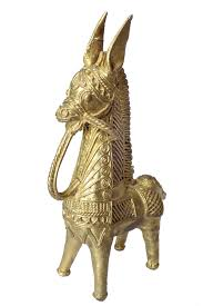 miharu dhokra bankura horse from the exclusive home decor and home