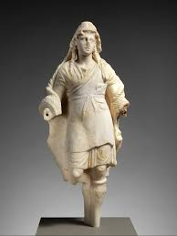 marble statuette of dionysos greek early hellenistic the met
