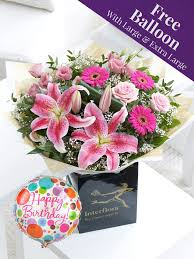 flowers direct pink radiance bouquet from flowersdirect ie