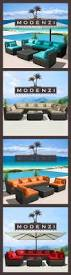 Rolston Wicker Patio Furniture by The 25 Best Sectional Patio Furniture Ideas On Pinterest