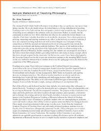 teaching philosophy template 7 teaching philosophy statement