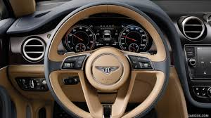 2017 Bentley Bentayga Interior Steering Wheel Hd Wallpaper 18