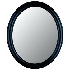 Cheap Shabby Chic Mirrors by Wall Mirror Black Framed Oval Wall Mirror Black Oval Wall Mirror