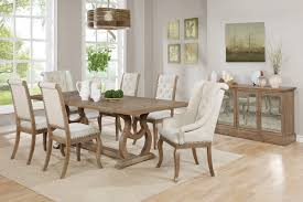 dining room arm chair scott living traditional dining table u0026 chairs set 107731 oc