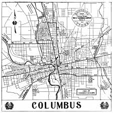 Dublin Ohio Map by Columbus Downtown Map Map Of Downtown Columbus Ohio Ohio Usa