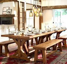 pottery barn farm table pottery barn rustic table rustic lodge entryway photo gallery design