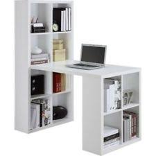 Craft Table Desk Home Office Desk Book Shelf White Hobby Craft Table Sewing Storage