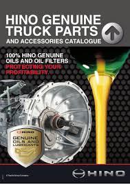 hino truck u0026 bus parts catalogue q2 2015