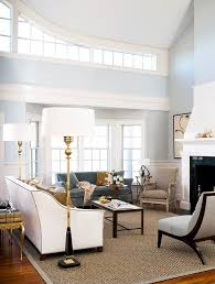 beautiful rooms in blue and white traditional home