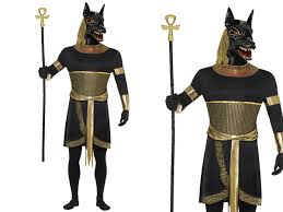 egyptian halloween costumes anubis the jackal costume egyptian pharaoh halloween m l ebay