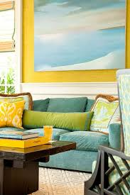 blue and green home decor blue green yellow living room coma frique studio 504499d1776b