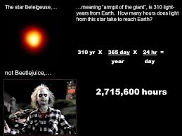 How Many Years Is A Light Year Distances In Space Or U201care We There Yet U201d Miles Feet Inches