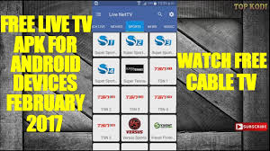 apk live free live tv apk for android devices february 2017 free