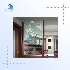 Antique Room Divider by Decorative Glass Door Partion Balcony Antique Room Divider Screen