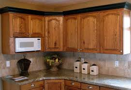 Installing Crown Molding On Cabinets How To Install Crown Molding On Kitchen Cabinets With Microwive