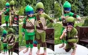 sewing pattern ninja costume tiny teenage mutant ninja turtles