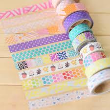 aliexpress com buy 5pcs lot cute masking tape colorful diy