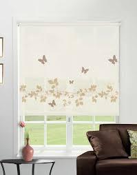 vine and butterfly sable roller blind direct order blinds uk