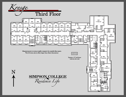 dormitory floor plans first year halls
