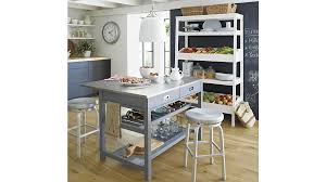 crate and barrel kitchen island white kitchen island kitchen design ideas