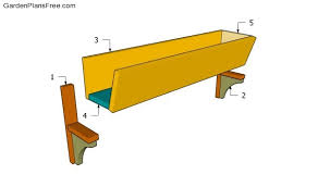 window box plans free garden plans how to build garden projects