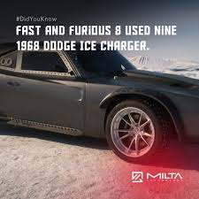 fast and furious 8 cars fast and furious 8 used nine 1968 dodge ice charger u2013 milta technology
