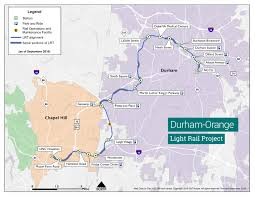 Portland Public Transportation Map by Durham And Orange Counties U0027 Light Rail Project U2013 Our Transit Future