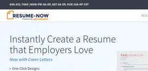 Resume Now Builder Resume Now Reviews 1 507 Reviews Of Resume Now Com Sitejabber