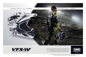 shoei motocross helmet shoei campaigns