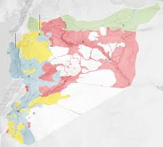 Map Of Syria And Surrounding Countries by Syria And Rebels Battle For Aleppo As Cease Fire Collapses The