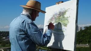 paint man free images tree grass plant sky recreation paint tourism
