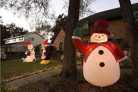 Abominable Snowman Outdoor Christmas Decorations by Snowman Outdoor Christmas Decorations Wooden Snowman Yard