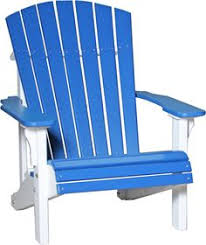 Luxcraft Outdoor Furniture by Luxcraft Recycled Plastic Tall Adirondack Balcony Chair