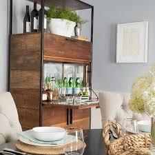 Metal Bar Cabinet Freestanding Dining Room Bar Cabinet Design Ideas